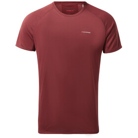 Craghoppers NosiLife Baselayer T-shirt Heren, brick red